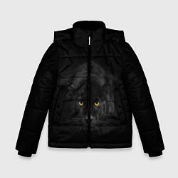 Куртка зимняя для мальчика Пантера цвета 3D-черный — фото 1