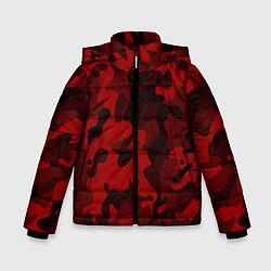 Куртка зимняя для мальчика RED MILITARY цвета 3D-черный — фото 1