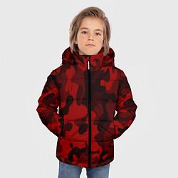 Куртка зимняя для мальчика RED MILITARY цвета 3D-черный — фото 2