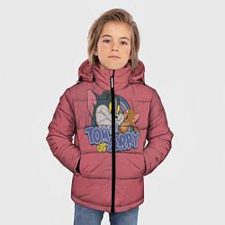 Куртка зимняя для мальчика Tom and Jerry - friends цвета 3D-черный — фото 2