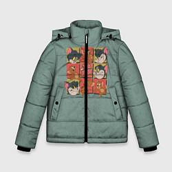 Куртка зимняя для мальчика Cube Tom & Jerry цвета 3D-черный — фото 1