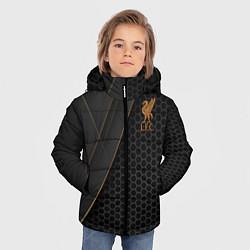 Куртка зимняя для мальчика Liverpool FC цвета 3D-черный — фото 2