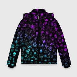 Куртка зимняя для мальчика RAINBOW SIX SIEGE NEON цвета 3D-черный — фото 1