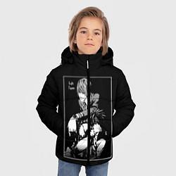 Куртка зимняя для мальчика Death Note цвета 3D-черный — фото 2