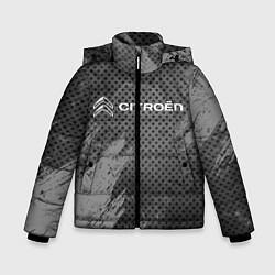 Куртка зимняя для мальчика CITROЁN цвета 3D-черный — фото 1