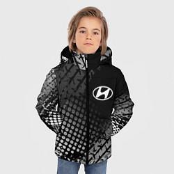 Куртка зимняя для мальчика Hyundai цвета 3D-черный — фото 2