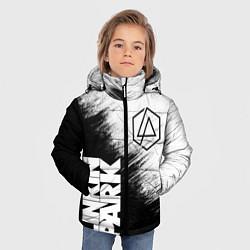 Куртка зимняя для мальчика LINKIN PARK 3 цвета 3D-черный — фото 2