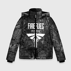 Куртка зимняя для мальчика THE LAST OF US цвета 3D-черный — фото 1