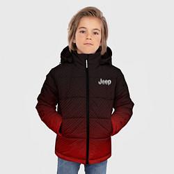 Куртка зимняя для мальчика Jeep спина Z цвета 3D-черный — фото 2