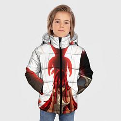 Куртка зимняя для мальчика FAIRY TAIL ХВОСТ ФЕИ цвета 3D-черный — фото 2