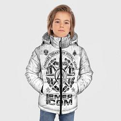 Куртка зимняя для мальчика RUSSIAN EMERCOM цвета 3D-черный — фото 2