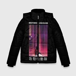 Куртка зимняя для мальчика Призрак в доспехах цвета 3D-черный — фото 1
