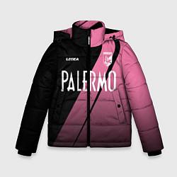 Куртка зимняя для мальчика PALERMO FC цвета 3D-черный — фото 1