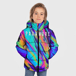 Куртка зимняя для мальчика PARAMORE цвета 3D-черный — фото 2