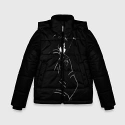 Куртка зимняя для мальчика Кирито цвета 3D-черный — фото 1