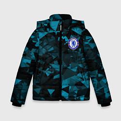 Куртка зимняя для мальчика Chelsea Челси цвета 3D-черный — фото 1