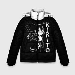 Куртка зимняя для мальчика Kirito цвета 3D-черный — фото 1