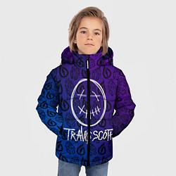 Куртка зимняя для мальчика TRAVIS SCOTT цвета 3D-черный — фото 2