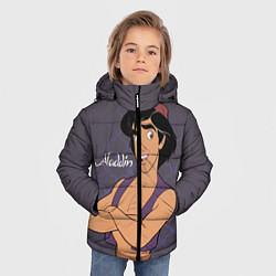 Куртка зимняя для мальчика Аладдин цвета 3D-черный — фото 2
