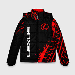 Куртка зимняя для мальчика LEXUS ЛЕКСУС цвета 3D-черный — фото 1
