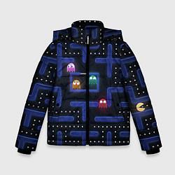Куртка зимняя для мальчика Pacman цвета 3D-черный — фото 1