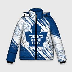 Куртка зимняя для мальчика Toronto Maple Leafs, цвета 3D-черный — фото 1