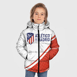 Куртка зимняя для мальчика ATLETICO MADRID Атлетико цвета 3D-черный — фото 2