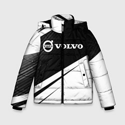 Куртка зимняя для мальчика VOLVO Вольво цвета 3D-черный — фото 1