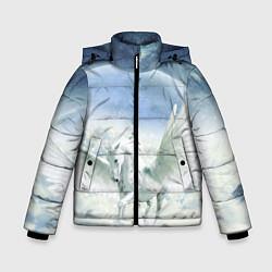 Куртка зимняя для мальчика Пегас цвета 3D-черный — фото 1