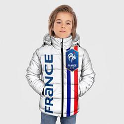 Куртка зимняя для мальчика СБОРНАЯ ФРАНЦИЯ цвета 3D-черный — фото 2