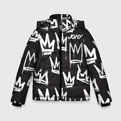 Куртка зимняя для мальчика Jony цвета 3D-черный — фото 1