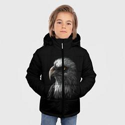 Детская зимняя куртка для мальчика с принтом Орлан, цвет: 3D-черный, артикул: 10275111506063 — фото 2