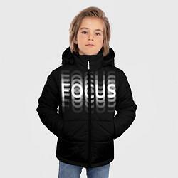 Куртка зимняя для мальчика Пьяный Z цвета 3D-черный — фото 2