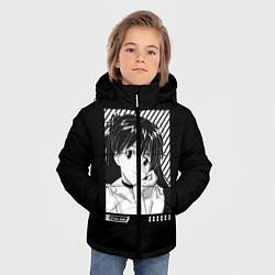 Куртка зимняя для мальчика Аска ева 02 цвета 3D-черный — фото 2