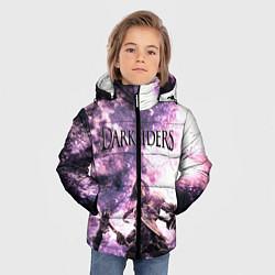 Куртка зимняя для мальчика Darksiders 2 цвета 3D-черный — фото 2