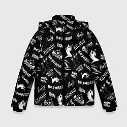 Куртка зимняя для мальчика KIZARU HAUNTED FAMILY цвета 3D-черный — фото 1