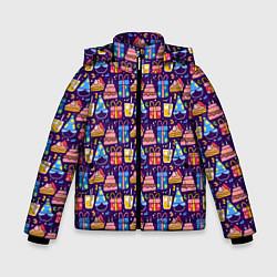 Куртка зимняя для мальчика День рождения - фото 1