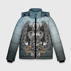 Куртка зимняя для мальчика Master цвета 3D-черный — фото 1