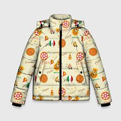 Куртка зимняя для мальчика Время есть! цвета 3D-черный — фото 1