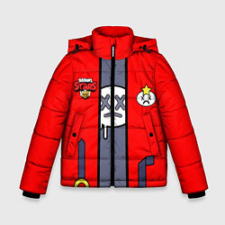 Куртка зимняя для мальчика Brawl Stars Edgar косплей цвета 3D-черный — фото 1
