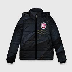 Куртка зимняя для мальчика FIAT ФИАТ S цвета 3D-черный — фото 1