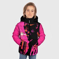 Куртка зимняя для мальчика Тайлер Дёрден с динамитом цвета 3D-черный — фото 2