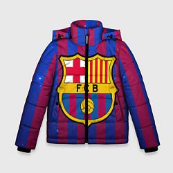 Куртка зимняя для мальчика Barcelona цвета 3D-черный — фото 1