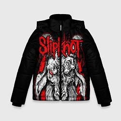 Куртка зимняя для мальчика Slipknot цвета 3D-черный — фото 1
