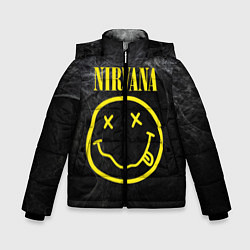 Куртка зимняя для мальчика Nirvana Smoke цвета 3D-черный — фото 1