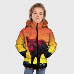Куртка зимняя для мальчика The Prodigy: Red Fox цвета 3D-черный — фото 2