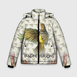 Куртка зимняя для мальчика Imagine Dragons: Fly цвета 3D-черный — фото 1