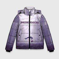 Детская зимняя куртка для мальчика с принтом Imagine Dragons: Silence, цвет: 3D-черный, артикул: 10064383706063 — фото 1
