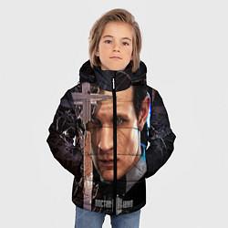 Детская зимняя куртка для мальчика с принтом Доктор кто, цвет: 3D-черный, артикул: 10065035006063 — фото 2