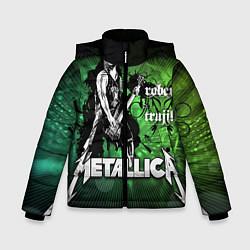 Куртка зимняя для мальчика Metallica: Robert Trujillo - фото 1